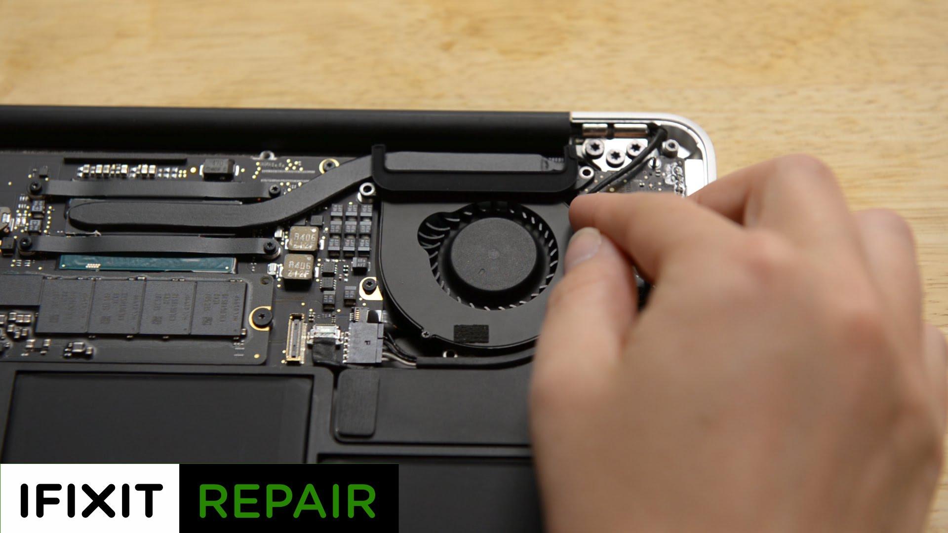 MacBook Air ファン交換方法・掃除方法動画
