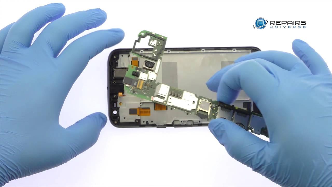 Motorola Moto G4 Plus 分解修理方法動画