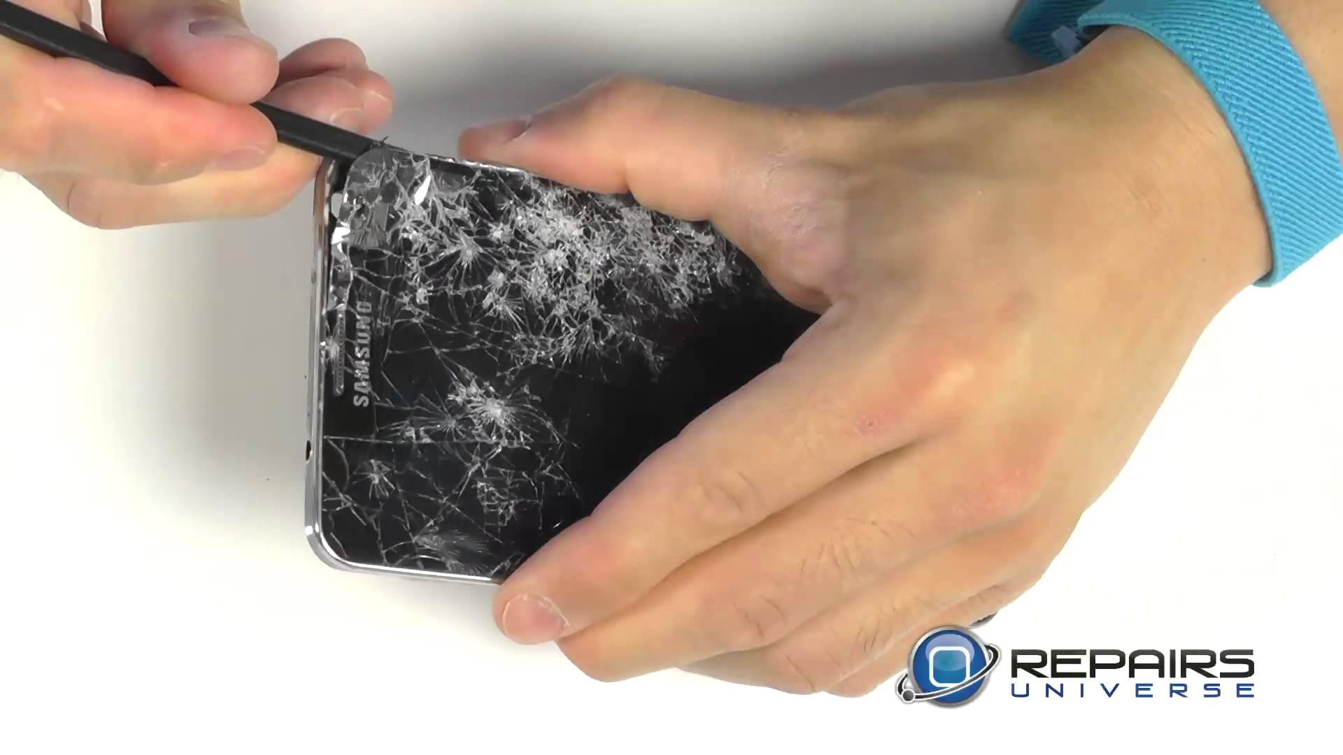 Samsung Galaxy Note 3 フロントパネル修理方法動画
