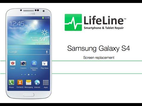 Samsung Galaxy S4 フロントパネル交換修理方法動画