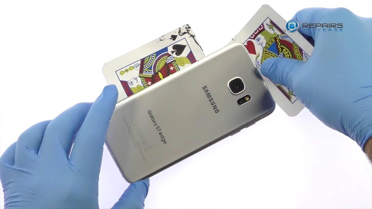 Samsung Galaxy S7 Edge バッテリー交換方法動画