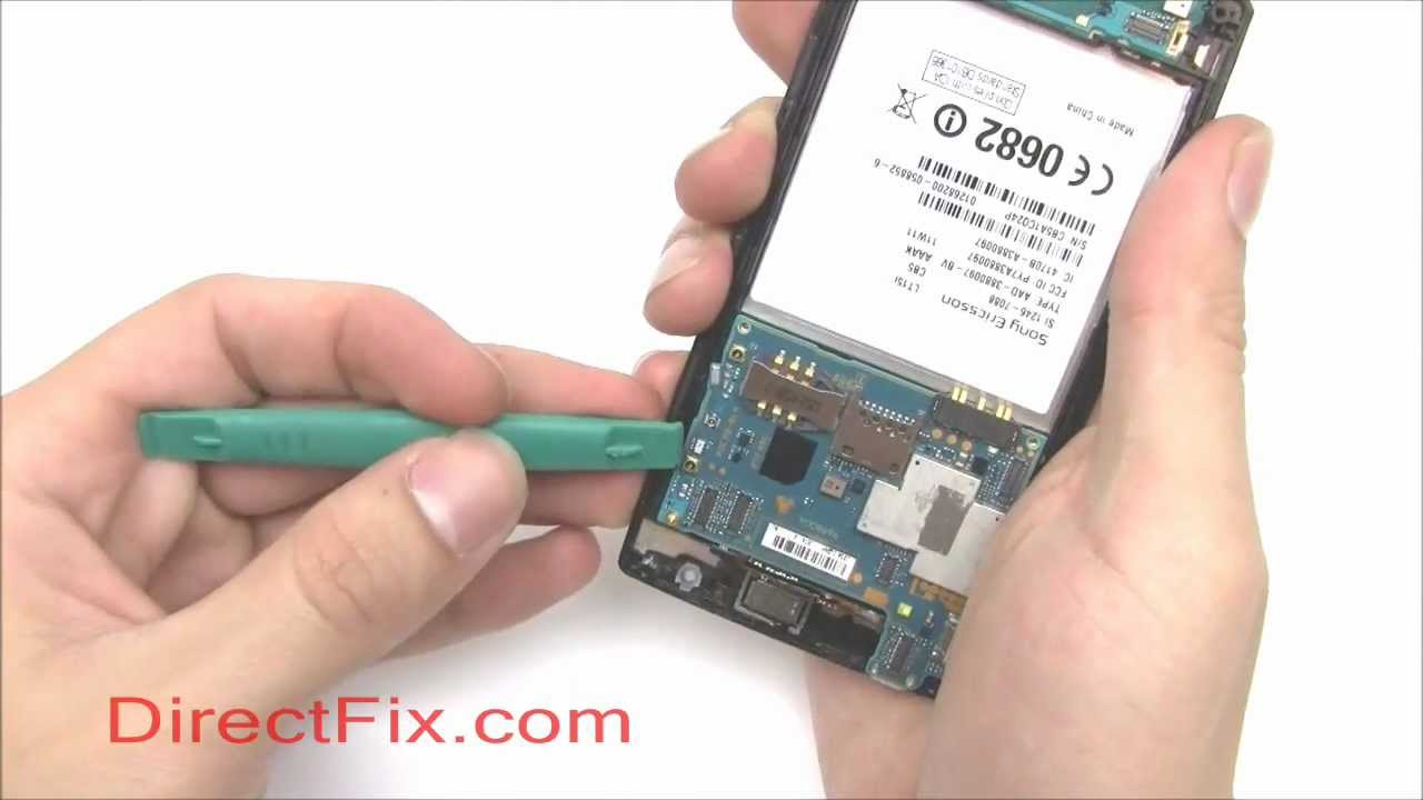 Xperia Arc フロントガラス交換修理方法動画