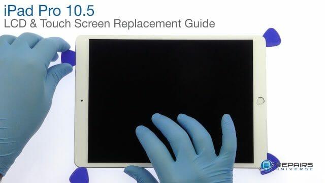 iPad Pro 10.5 ガラス割れ修理 フロントパネル・液晶 交換修理方法動画
