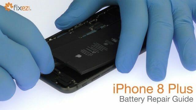 iPhone 8 Plus 電池交換方法動画