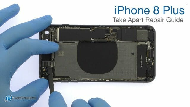 iPhone8 修理方法動画(パーツ交換)