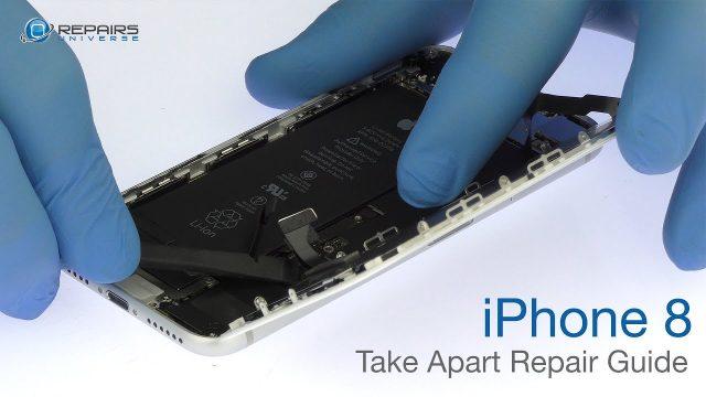 iPhone8 分解方法 パーツ交換修理方法動画