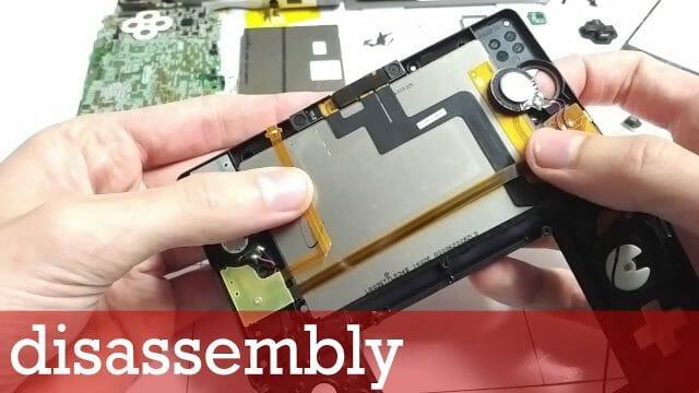 Nintendo 3DS 分解修理方法動画(パーツ交換による修理)