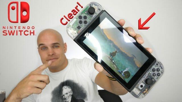 Nintendo Switch スイッチ分解改造 クリアボディー(透明化)にする方法動画