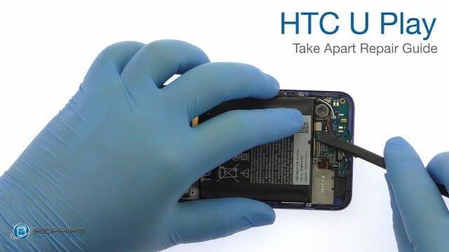 HTC U Play 分解方法動画