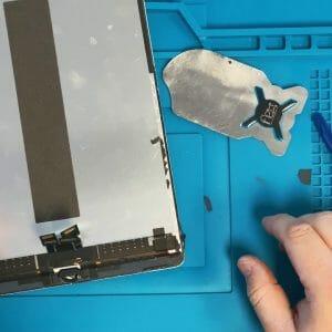 iPad pro ガラス割れ修理方法動画