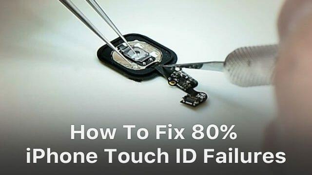 iPhone 指紋認証ホームボタンのフレックスケーブルが壊れたときの修理動画