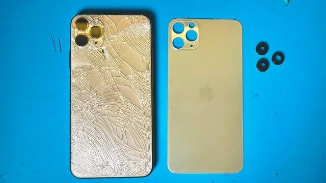 iPhone 11 Pro Max バックガラス修理交換方法動画