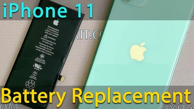 iPhone11バッテリー交換修理方法動画
