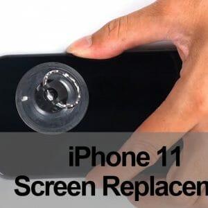iPhone11 スクリーン&イヤースピーカー分解修理方法動画
