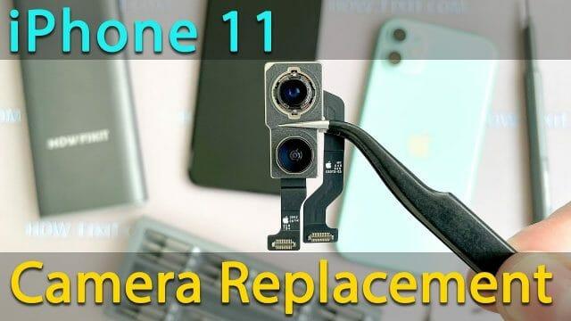 iPhone11カメラ交換方法動画