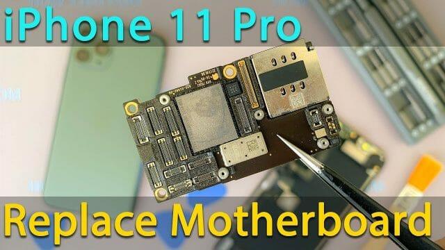 iPhone11Pro マザーボード交換方法動画