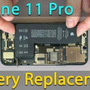 iPhone11Proバッテリー交換修理方法動画