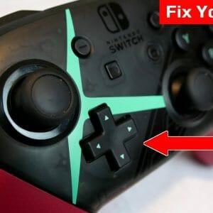 NintendoSwitch ProController D-Pad入力問題修正方法動画